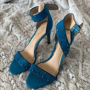 Turquoise Jessica Simpson Heels